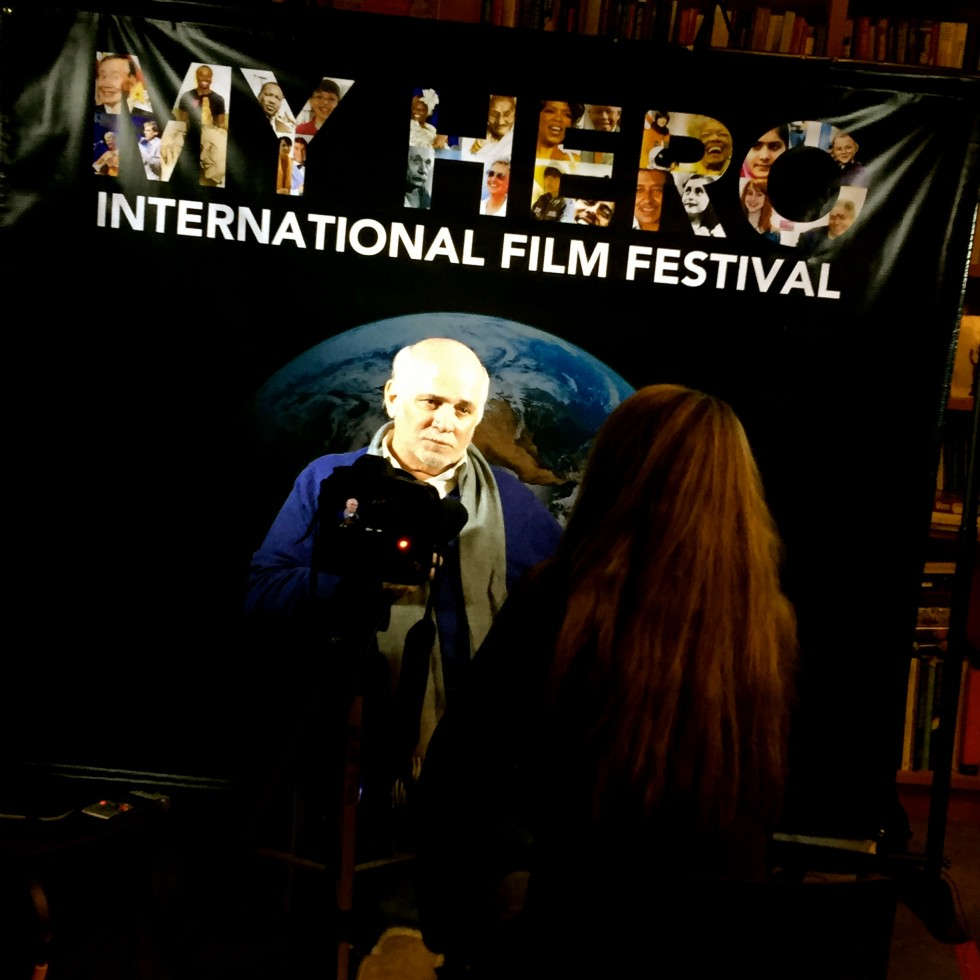 Ron Kovic calls for Peace at 2014 My Hero International Film Festival